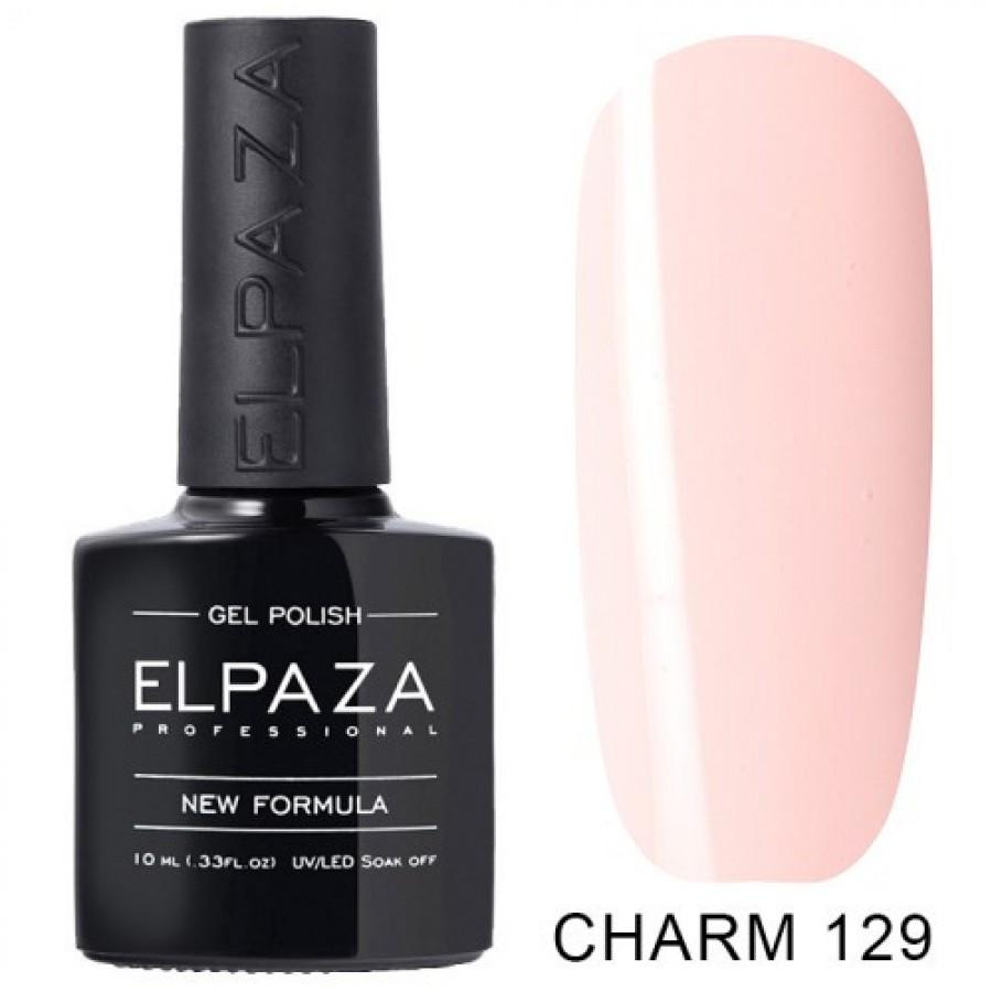 Гель-лак ELPAZA Charm №129 Кокосове молоко, світло-рожевий