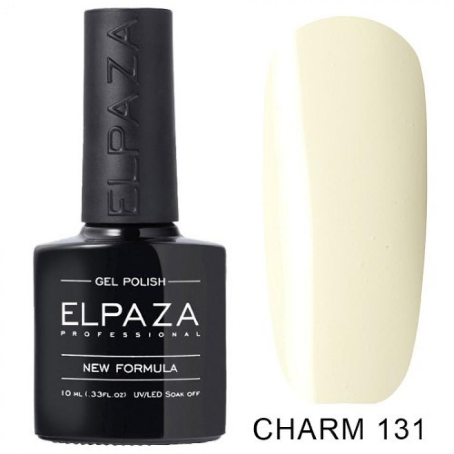 Гель-лак ELPAZA Charm №131 Эдельвейс, светло-желтый