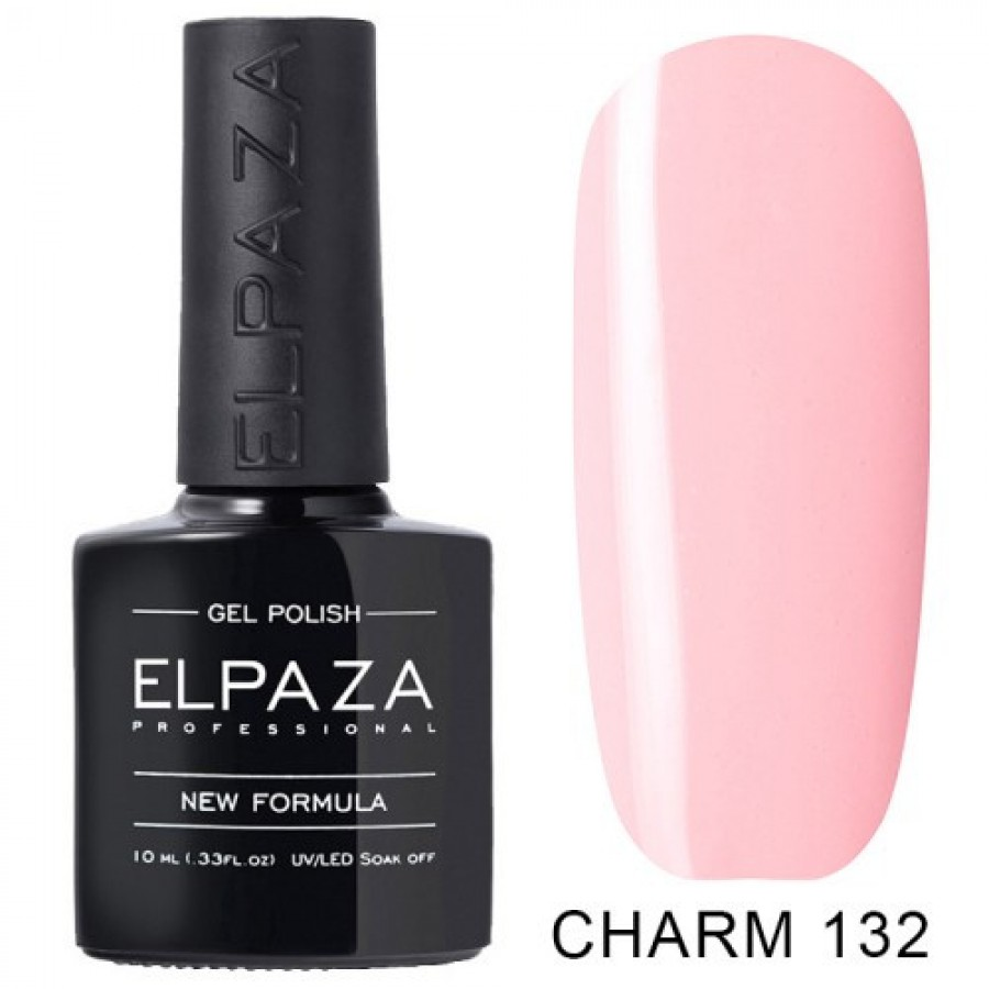 Гель-лак ELPAZA Charm №132 Крылья ангела, светло-розовый