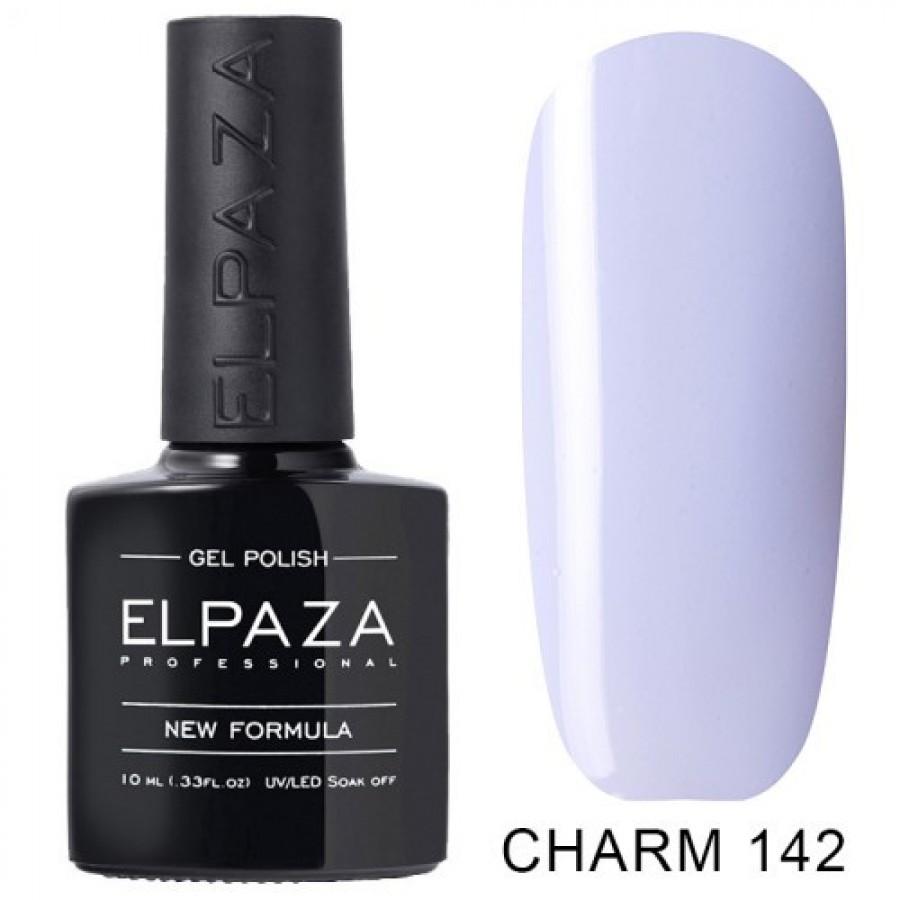 Гель-лак ELPAZA Charm №142 Польові квіти, блідо-блакитний