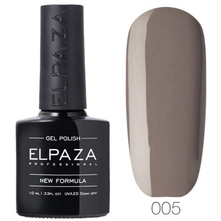 Гель-лак ELPAZA Classic №005 Пряная кориця, сірий