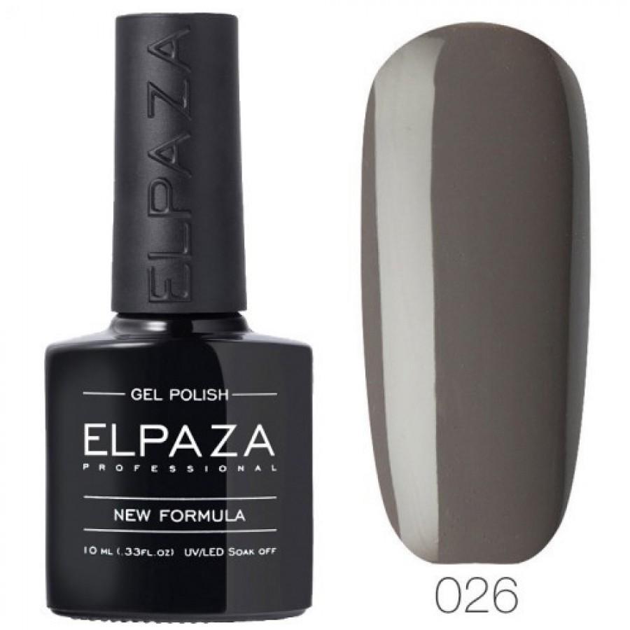 Гель-лак ELPAZA Classic №026 Французский серый, серый