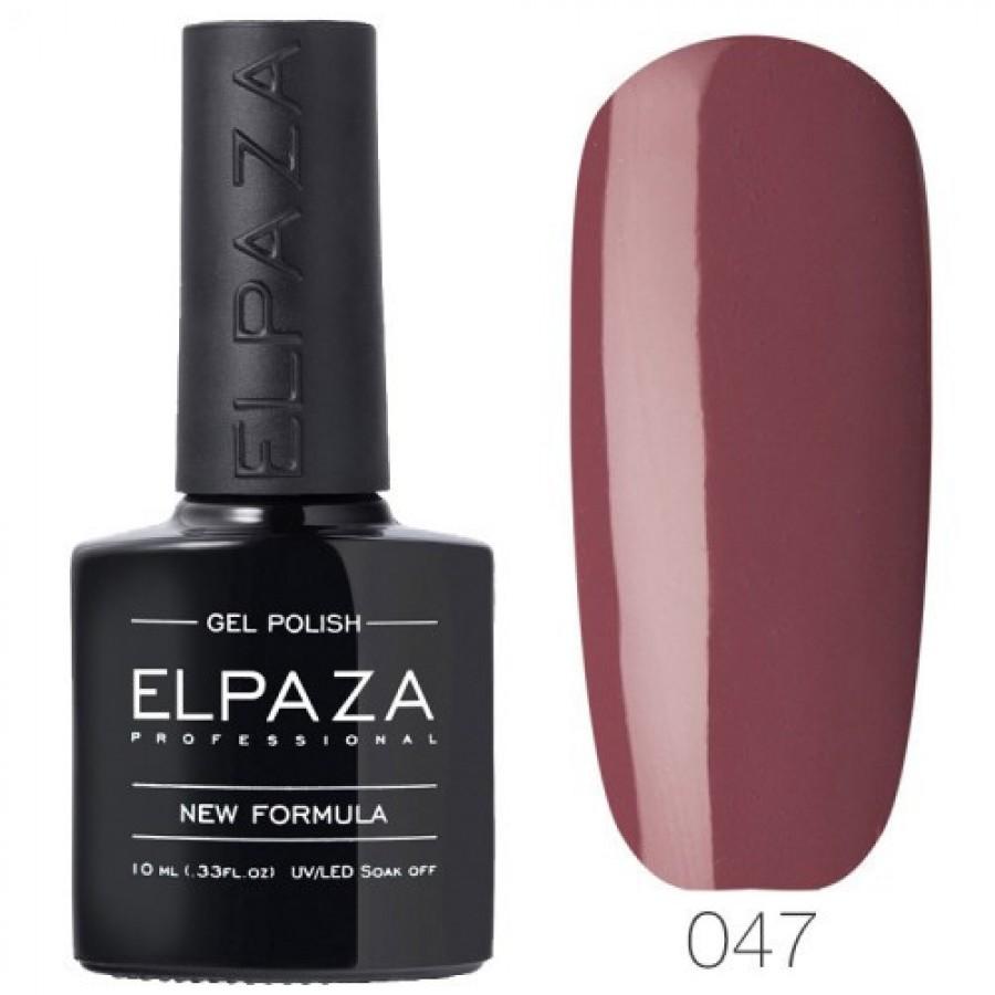 Гель-лак ELPAZA Classic №047 Молочний шоколад, рожево-коричневий