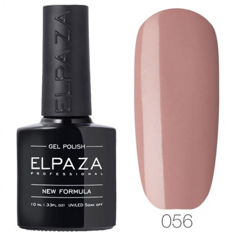 Гель-лак ELPAZA Classic №056 Сливочная нуга, светло-коричневый