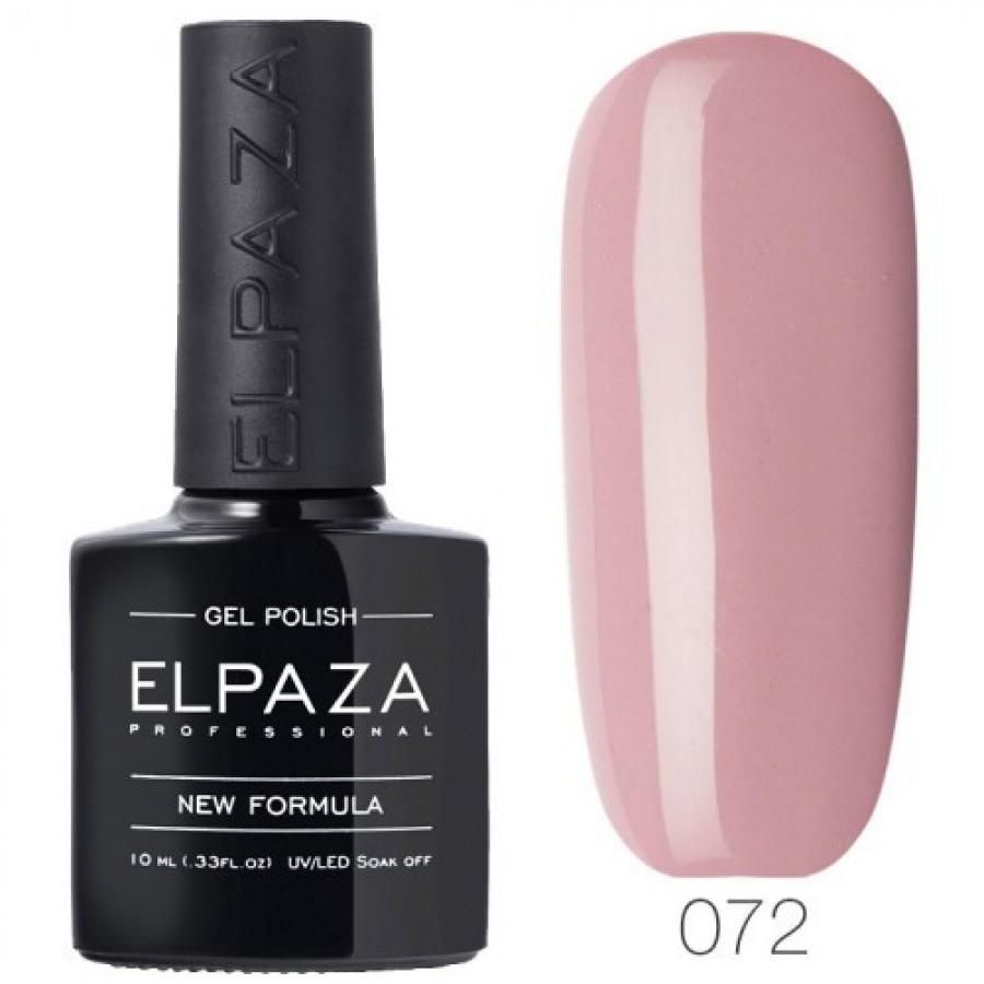 Гель-лак ELPAZA Classic №072 Гарячий шоколад, рожево-сливовий