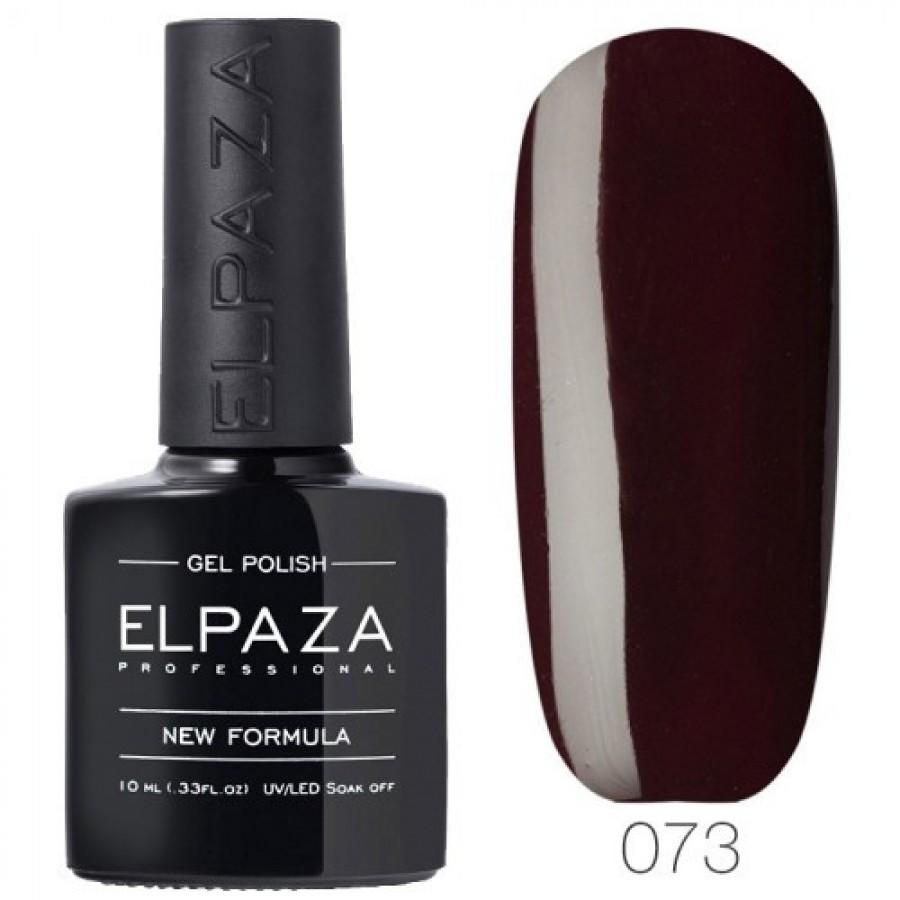 Гель-лак ELPAZA Classic №073 Шкіряний жакет, темно-бордовий