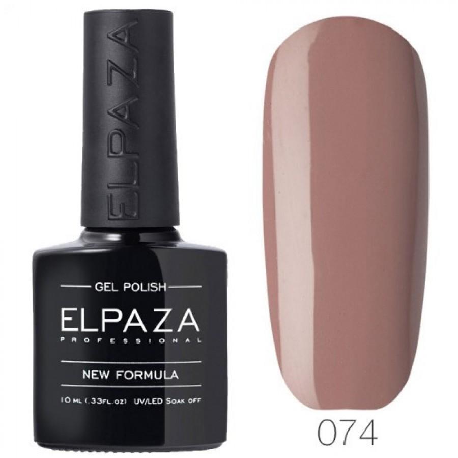 Гель-лак ELPAZA Classic №074 Романтик, коричнево-сливовий