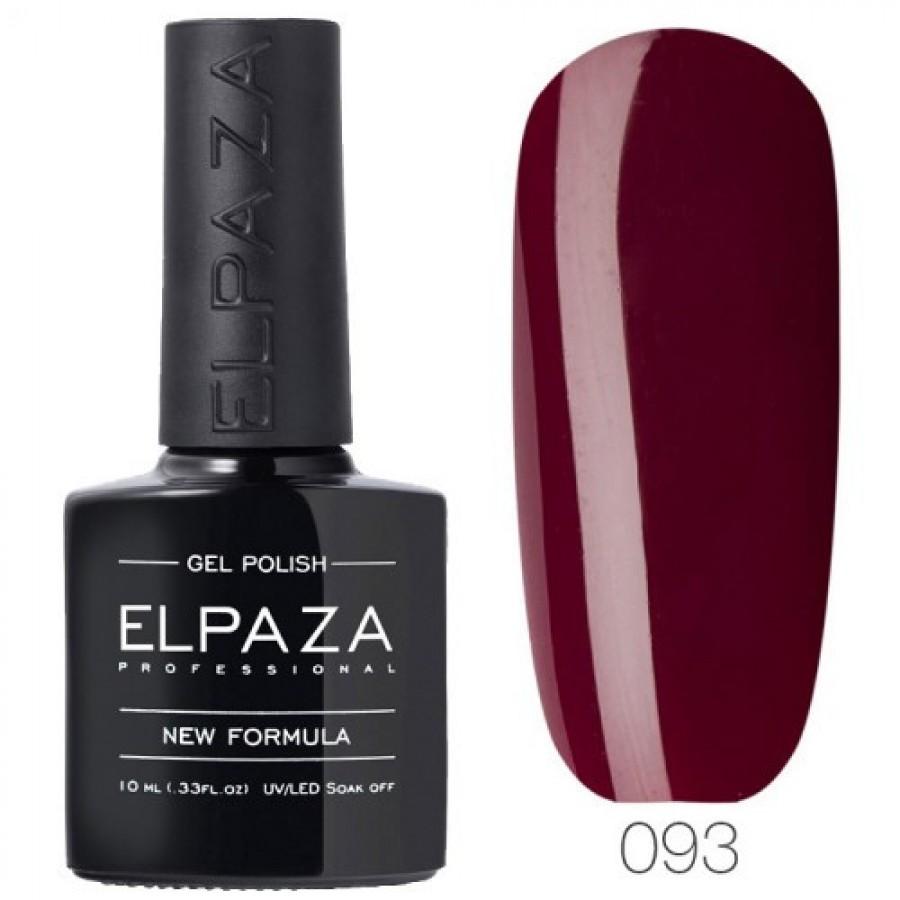 Гель-лак ELPAZA Classic №093 Взаємна любов, темно-вишневий