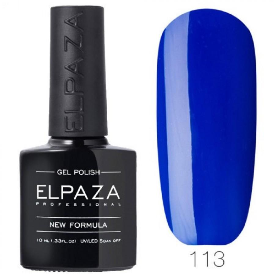 Гель-лак ELPAZA Classic №113 Край світу, синій