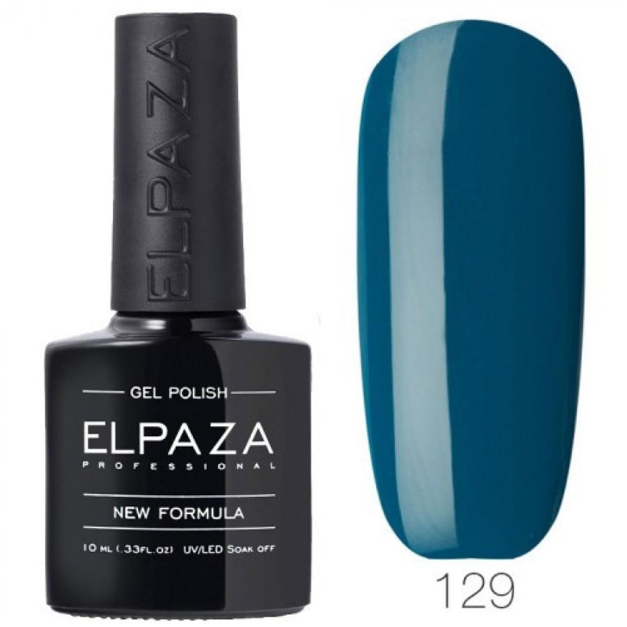 Гель-лак ELPAZA Classic №129 Блакитні Гаваї, синій
