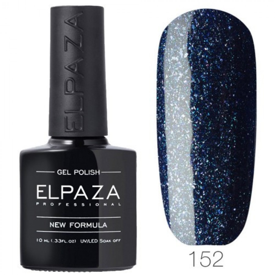 Гель-лак ELPAZA Classic №152 Сверкающий опал, темно-синий с шиммером
