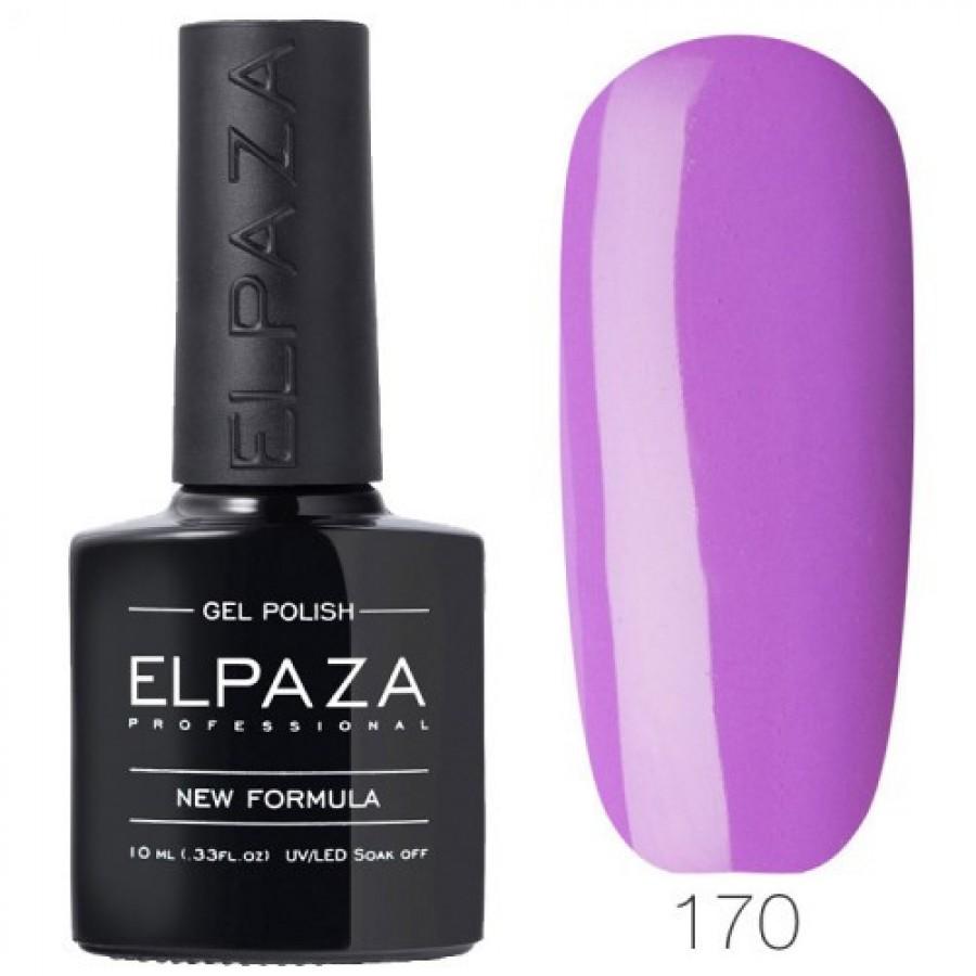 Гель-лак ELPAZA Classic №170 Фіолетова герань, фіолетовий