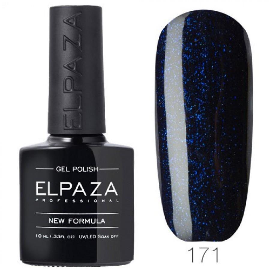 Гель-лак ELPAZA Classic №171 Индиго, темно-синий с шиммером