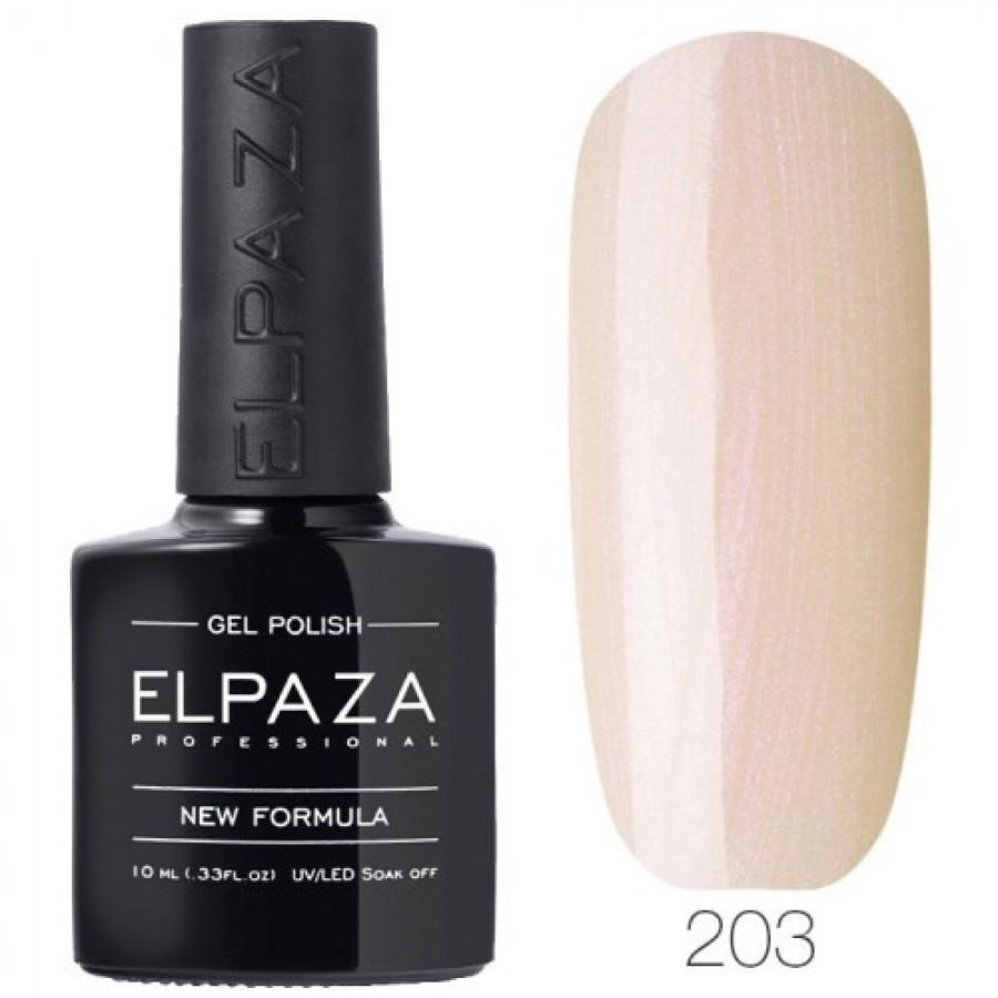 Гель-лак ELPAZA Classic №203 Сияние жемчужины, бледно-розовый