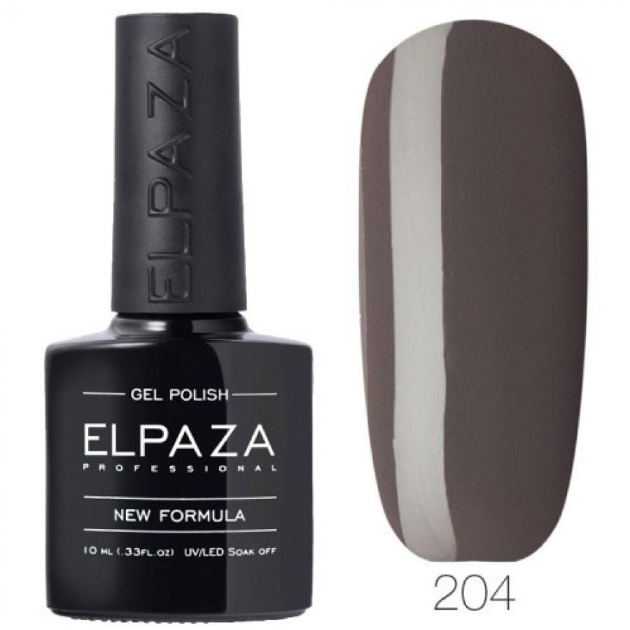 Гель-лак ELPAZA Classic №204 Обсидиан, темно-серый