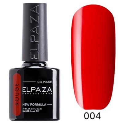 Гель-лак ELPAZA Rouge №004 Ламбада, червоний