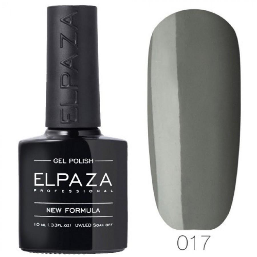 Гель-лак ELPAZA Classic №017 Тёмная Византия, серый
