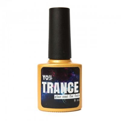 Топ-клей для фольги Yo!Nails Trance, 8мл