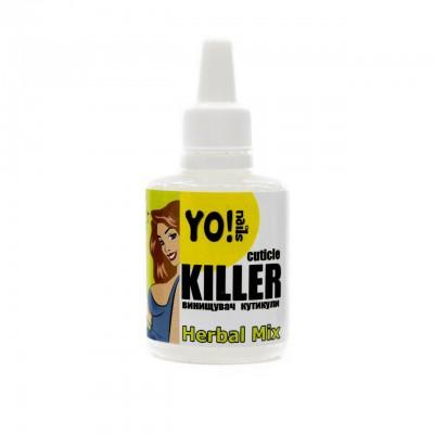 Ремувер для кутикулы Yo!Nails Cuticle Killer, herbal, 30мл