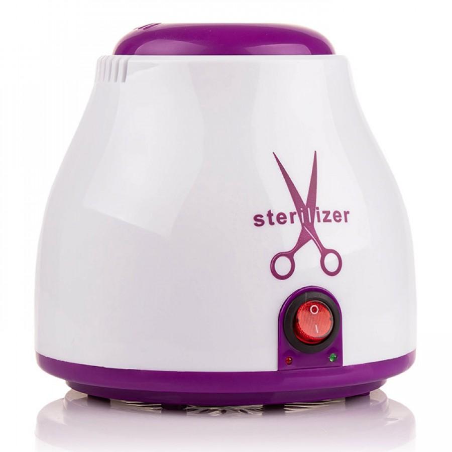 Кварцевый стерилизатор для инструментов + гранулы, фиолетовый