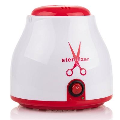 Кварцовий стерилізатор для інструментів + гранули, червоний