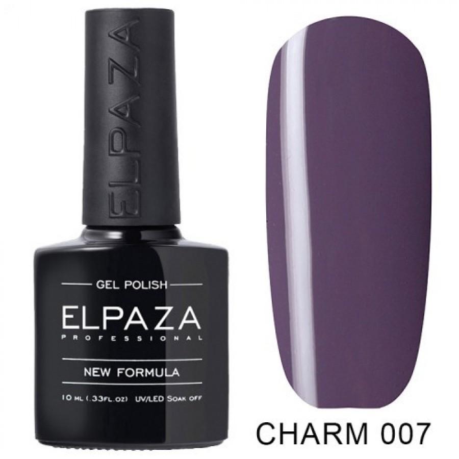 Гель-лак ELPAZA Charm №007, фіолетовий