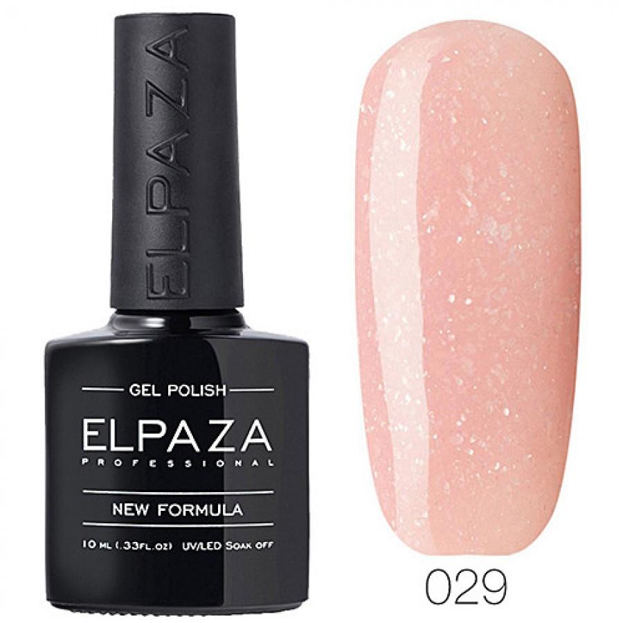 Гель-лак ELPAZA Classic №029 Перлинний рум'янець, рожевий зі слюдою