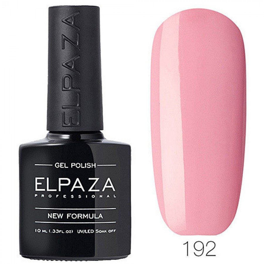 Гель-лак ELPAZA Classic №192 Плюшевий ведмедик, ніжно-рожевий