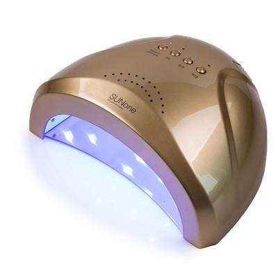 Сенсорна гібридна лампа SUNone UV LED 48 W, золото