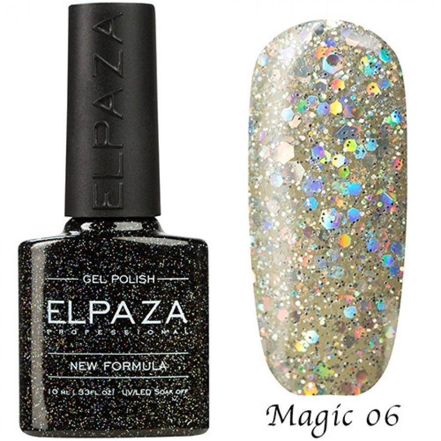 Гель-лак ELPAZA Magic №06 Алмаз