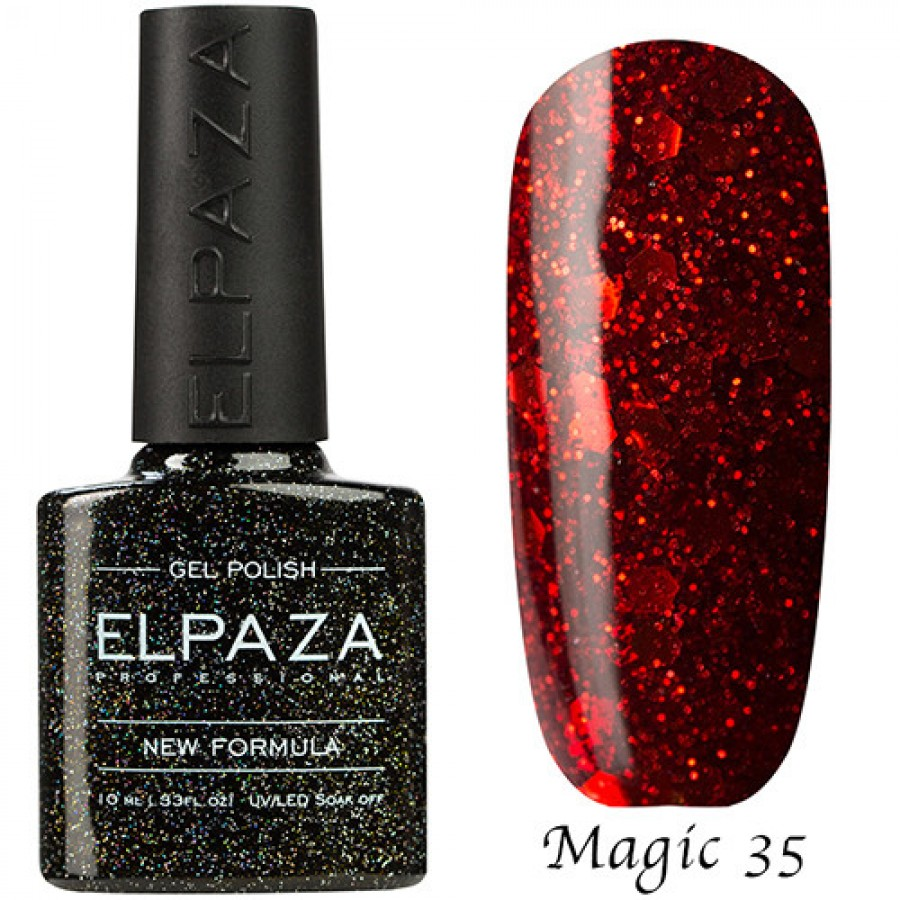 Гель-лак ELPAZA Magic №35 Пристрасть