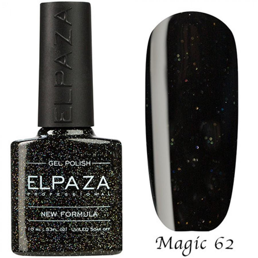 Гель-лак ELPAZA Magic №62 Черная жемчужина