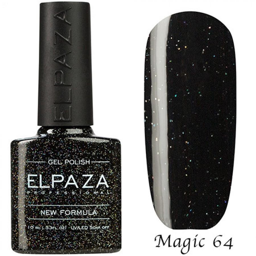 Гель-лак ELPAZA Magic №64 Огненный кристал