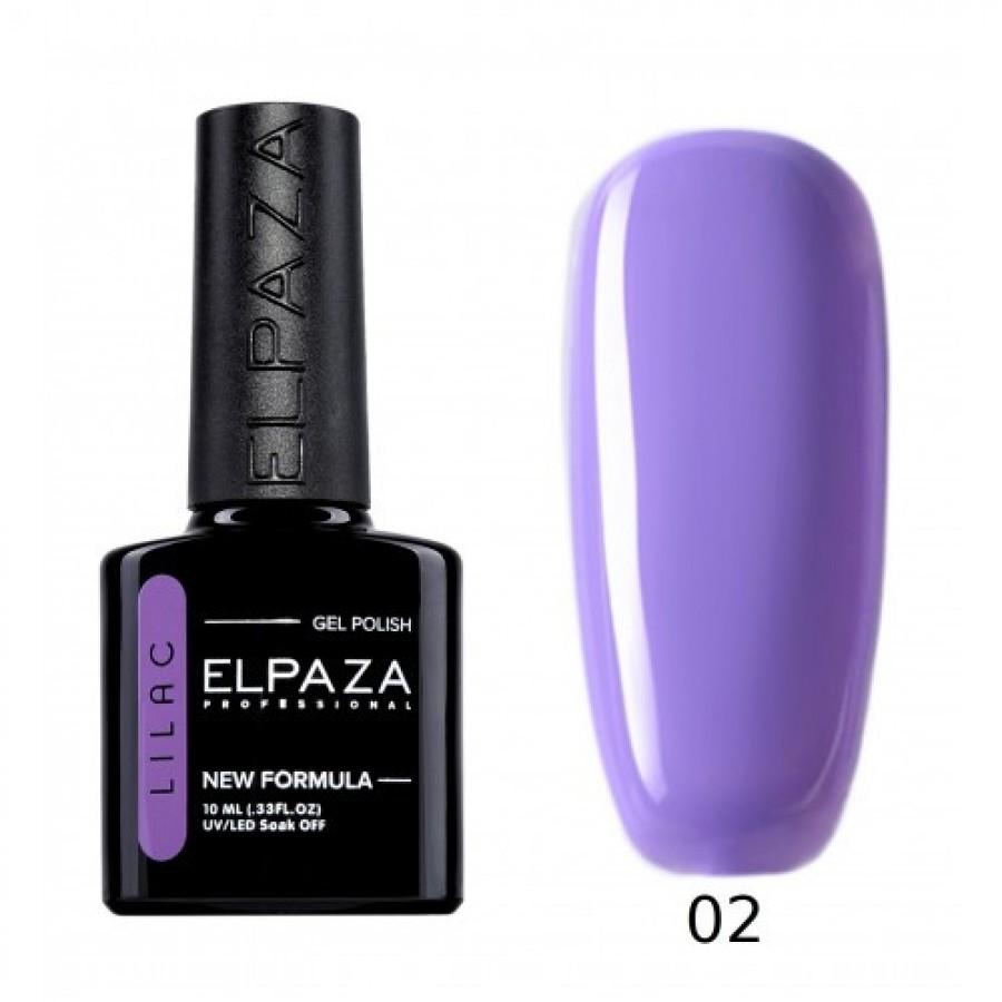 Гель-лак ELPAZA Lilac №002 Ласковый прибой, сиреневый