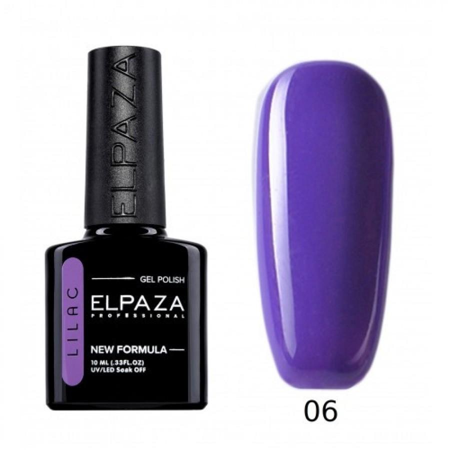 Гель-лак ELPAZA Lilac №006 Лавандовое поле, темно-сиреневый