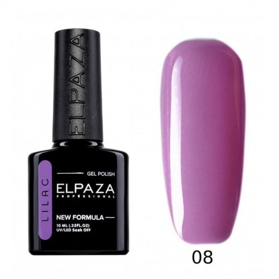 Гель-лак ELPAZA Lilac №008 Флоренція, бузково-рожевий