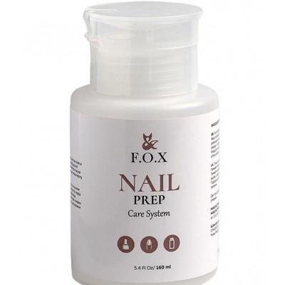 Знежирювачах для нігтів FOX Nail prep, 160 мл