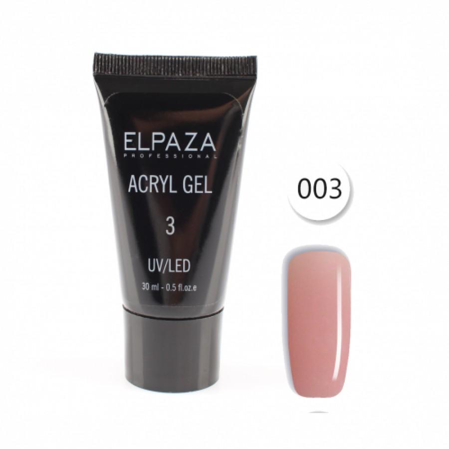 Акрілгель ELPAZA Acryl gel №3, 30 ml