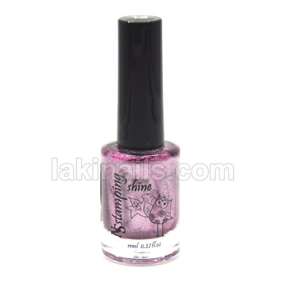 Лак для стемпинга Nail Story серия SHINE, розовый