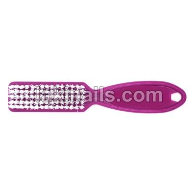Щетка с ручкой для удаления пыли, фиолетовая