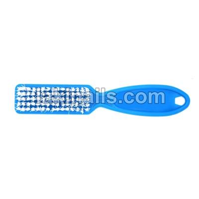 Щетка с ручкой для удаления пыли, голубая