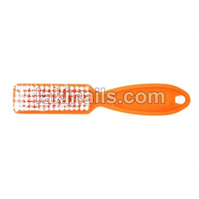 Щетка с ручкой для удаления пыли, оранжевая