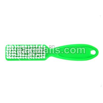 Щетка с ручкой для удаления пыли, зеленая