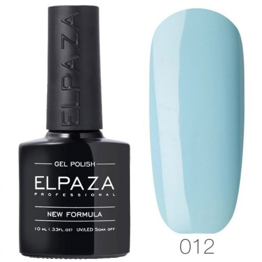 Гель-лак ELPAZA Classic №012 Вид з хмарочоса, небесно-блакитний