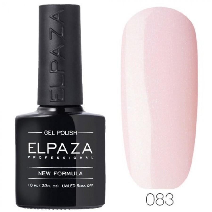Гель-лак ELPAZA Classic №083 Рожеве мерехтіння, рожевий з мікроблесткамі