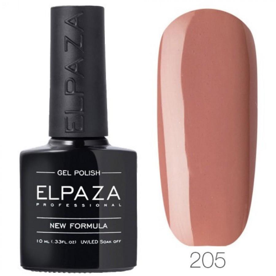 Гель-лак ELPAZA Classic №205 Солодка карамель, рожево-бежевий