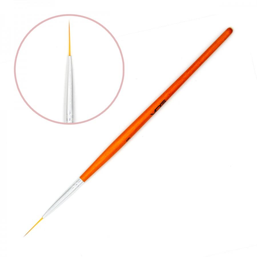 Кисть для дизайну VOG Redwood Nail Art Brush №3