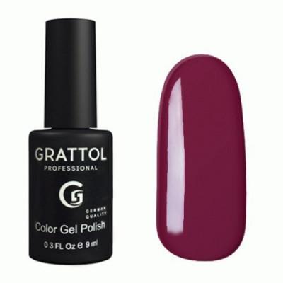 Гель-лак Grattol Color Gel Polish Plum 055, 9 мл