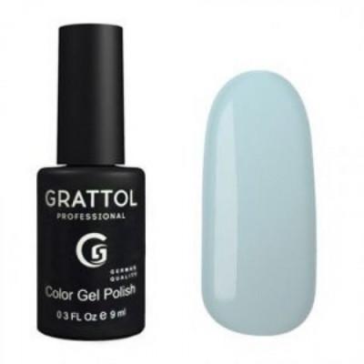 Гель-лак Grattol Color Gel Polish Powder Blue 113, 9 мл