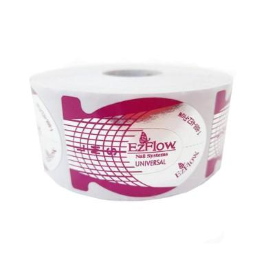 Форма для наращивания, узкая, фиолетовая, EzFlow, рулон